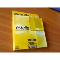 CD R80 estelle cu plic 10buc/cut