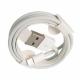 Alimentator incarcator compatibil iPhone lightning 5,6,7,8,X,XR,XS,11,12 (C/S/SE/PRO/PLUS/MAX), normal charge, USB, 5W, alb, cu cablu lightning inclus