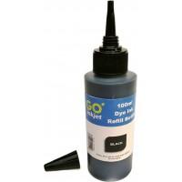 Cerneala compatibila Epson neagra (black) sticla 100ml, tip DYE