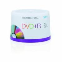 DVD+R 4.7GB MEMOREX 50 cake box