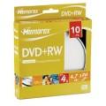 DVD+RW 4.7GB MEMOREX 4x cake 10 discuri
