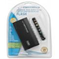Alimentator - incarcator universal laptop pentru casa/birou si masina, 100W, cu mufa de iesire USB