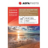 Hartie foto 10x15 (4R) Agfa RC High Glossy - ultra lucioasa 260g resin coated- pachet 100 de coli