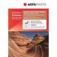 Hartie foto 5R (13 x 18) lucioasa Agfa 210g - pachet 100 de coli