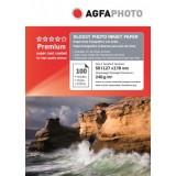 Hartie foto 5R (13 x 18) lucioasa Agfa 240g - pachet 100 de coli