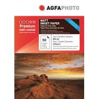 Hartie foto mata A4 de 130 g / mp Agfa - pachet de 50 de coli