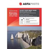 Hartie foto lucioasa AGFA format A4 180g/mp - pachet 20 coli