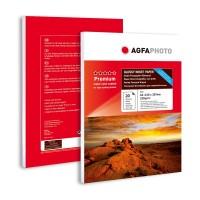 Hartie foto lucioasa Agfa A4 fata-verso (double sided) 220 g / mp - pachet de 20 de coli
