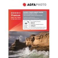 Hartie foto lucioasa AGFA format A4 240g/mp - pachet 50 coli POLYBAG