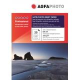 Hartie foto lucioasa RC (Resin-coated)  Agfa A4 SATIN 260 g/mp