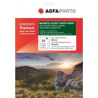 Hartie magnetica A4 lucioasa Agfa Photo glossy - pachet 10 coli