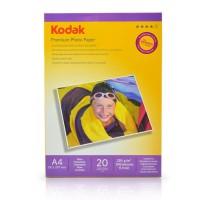 Hartie foto super lucioasa KODAK format A4 230g/mp - pachet 20 coli