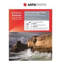 Hartie foto A3 lucioasa 240g Agfa- pachet 20 de coli