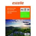 Hartie mata A4 autocolanta 128g/mp- etichete autoadezive - pachet 50 coli