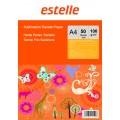 Hartie de transfer prin SUBLIMARE pentru tricouri, sepci, fete de perna, cani, ceramica -  format A4 100g/mp - pachet 50 coli