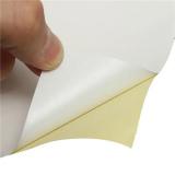 Hartie autoadeziva lucioasa A4 - etichete autocolante glossy - pachet 20 coli