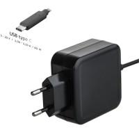 Alimentator de laptop si tableta cu conector USB tip C, maxim 65W - 5 V / 3 A, 9 V / 3 A, 12 V / 3 A, 15 V / 3 A, 20 V / 3.25 A