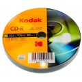 CD R80 Kodak 10 cakebox
