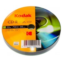 CD R80 Kodak 10 cakebox