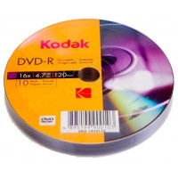 DVD-R Kodak capacitate 4.7 GB bulk Value Pack 10 discuri