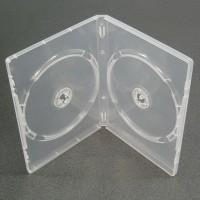 Carcasa dubla DVD TRANSPARENTA 14mm