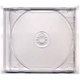 Carcasa CD normala 10.4mm cu tava transparenta si fata transparenta tip jewel case