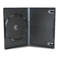 Carcasa DVD neagra 14mm calitate premium - machine packing