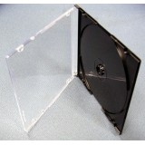 Carcasa CD slim 5.2mm neagra calitate premium