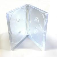 Carcasa 4 DVD clear 14mm
