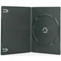 Carcasa DVD slim neagra 7mm