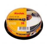 DVD+R 8.5GB DL Kodak dual layer inkjet printabil full surface viteza 8x