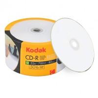 CD R80 Kodak printabil inkjet full surface 700 MB 50 discuri bulk - suprafata printabila mata