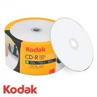 CD R80 Kodak printabil GLOSSY (LUCIOS) inkjet full surface 700 MB 50 discuri bulk