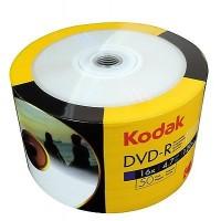 DVD-R 4.7GB Kodak inkjet printabil GLOSSY full surface viteza 16x 50bulk