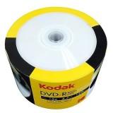DVD-R 4.7GB Kodak inkjet printabil full surface viteza 16x 50bulk