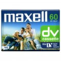 Caseta video miniDV Maxell (DVM) 60min SP / 90min LP