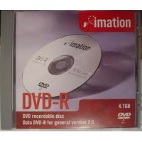 DVD-R 4.7GB IMATION 16x cu carcasa transparenta slimC D
