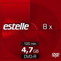 DVD-R 4.7GB estelle 8x cu carcasa slimCD