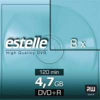 DVD+R 4.7GB estelle 8x cu carcasa slimCD